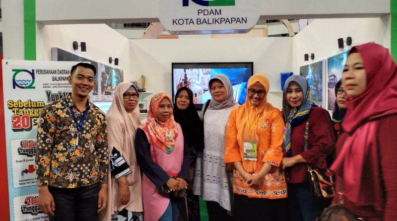 PDAM Bagi-Bagi Souvenir Di Balikpapan Fair