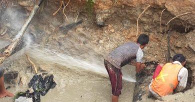 Akibat Proyek Gorong-Gorong, IPAM Kampung Damai STOP Produksi