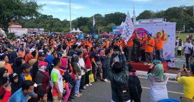 Bank Indonesia Balikpapan Kampanye Uang Elektronik Di E-Toll Day