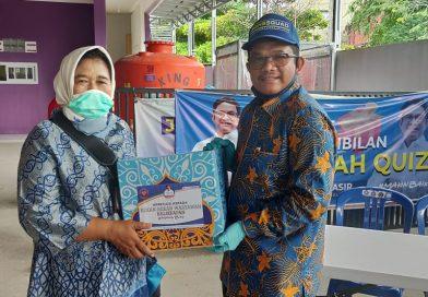 Peduli Wartawan, AHB Bagikan Sembako
