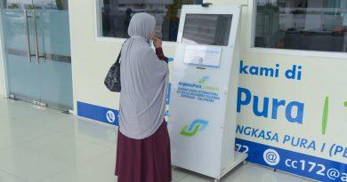 Menuju New Normal, Bandara SAMS Sepinggan Terapkan CS Online