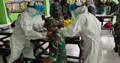 Non Reaktif, 80 Prajurit TNI-AD Peserta TMMD ke-108 diberangkatkan ke Kecamatan Kaliorang