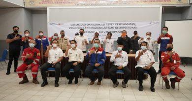Pertamina Sosialisasikan Kesiapsiagaan dan Berikan Bantuan Sarana Dapur Umum